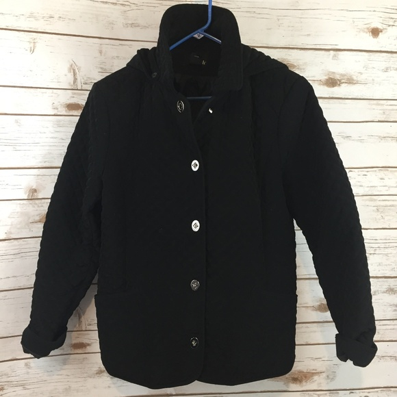 East 5th Jackets & Blazers - Black Quilted Jacket Size Large